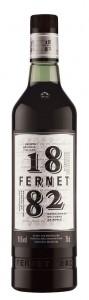 Botella de Fernet marca 1882