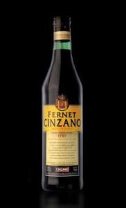 Botella de Fernet Cinzano